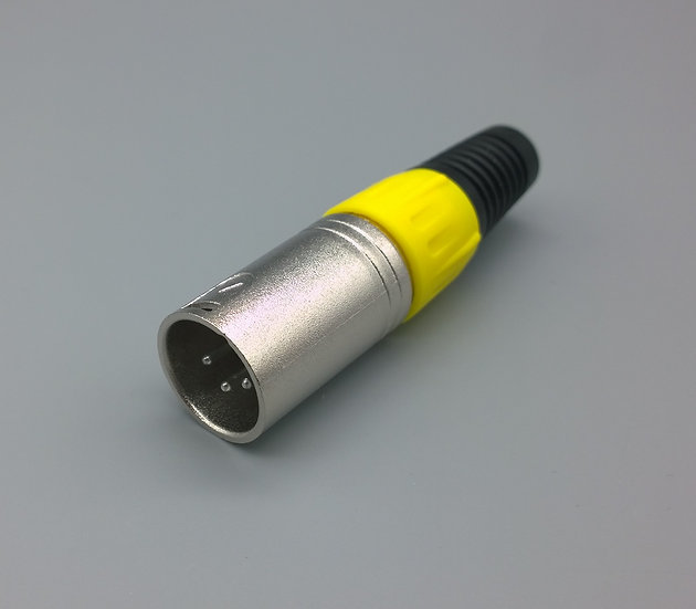 4 pin XLR yellow