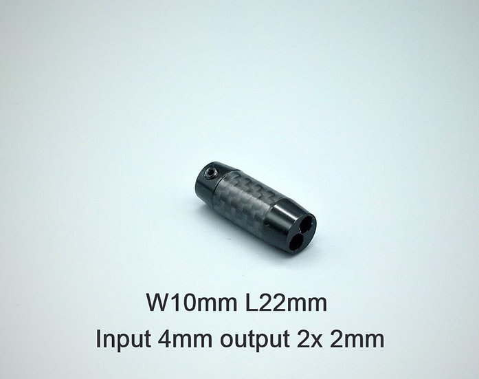 Carbon fibre black small
