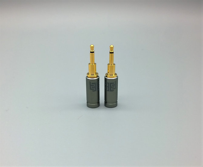 Eidolic 2.5mm mono  TS jacks for Sennheiser HD700, Audioquest,Monoprice