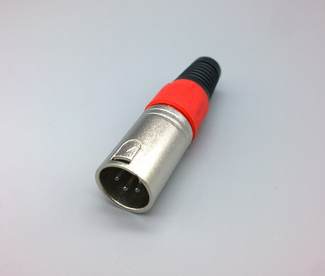 4 pin XLR red