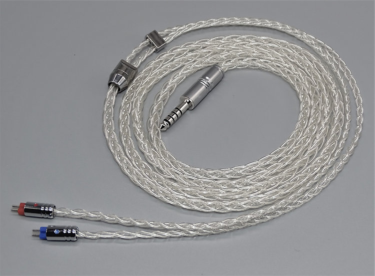 Pure Silver 8 wire IEM