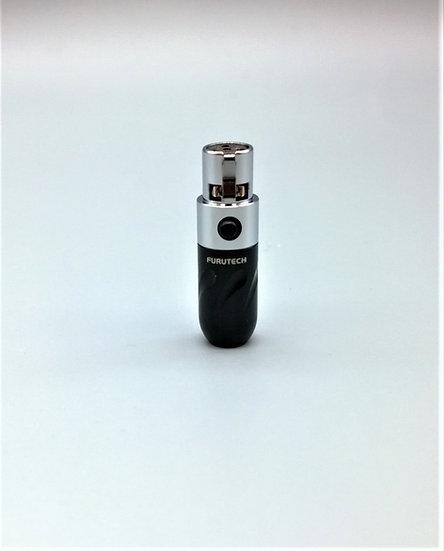 Furutech FT-610mF Rhodium 4 pin mini XLR
