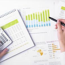 un grafico, statistiche commercio