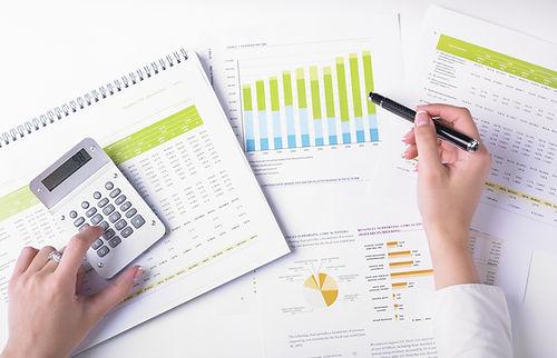 Graphs, data and calculator