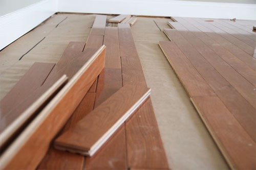Acclimate Hardwood Flooring Outside the Boxes