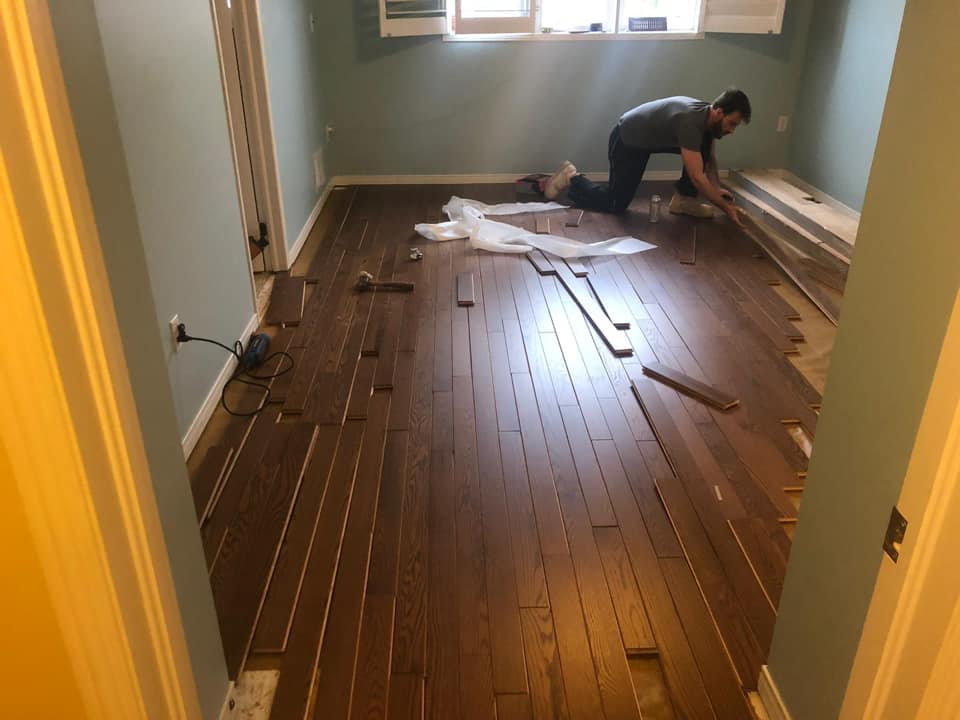 Oak Hardwood Installation