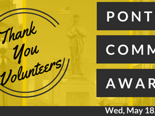 Thank You for Nominating Volunteers