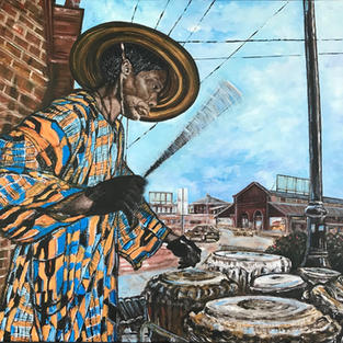 TOP 25 - The Drummer Of Eastern Market, Sharlene Welton