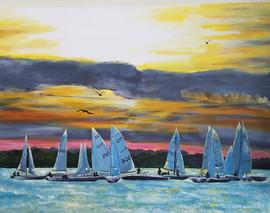 Pontiac Yacht Club Sunset Drills
