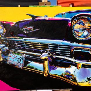 57 Chevy Spirit of Detroit, Paul Weideman