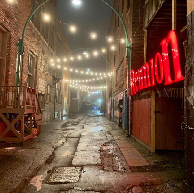 TOP 25 - Alley Fog, Tim Travis
