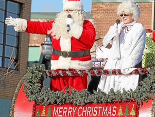 Santa Claus comes to Pontiac