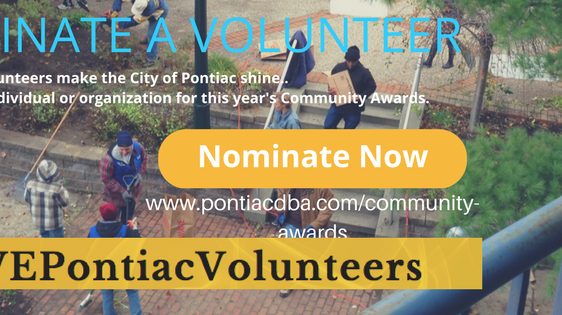 Nominate your community volunteer NOW