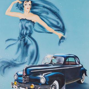 '42 Nash Lady, Theresa Bower