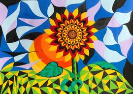 Sunflower & the Sun