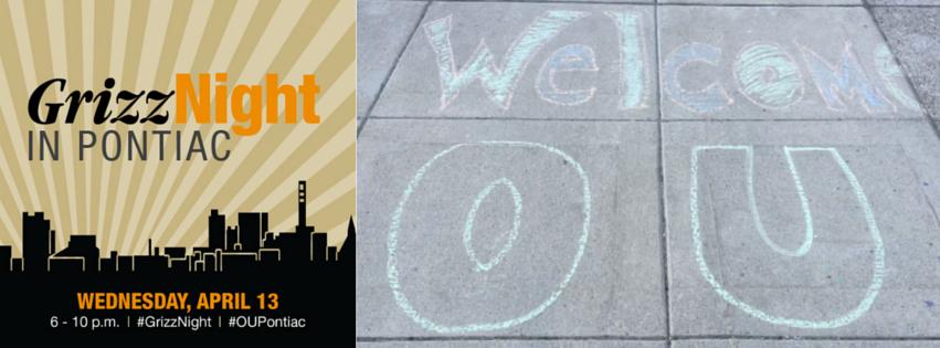 #GrizzNight Welcomes OU to Downtown Pontiac