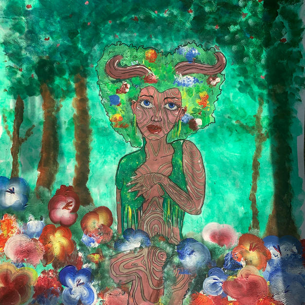 'Evergarden' By Dominique Rouser