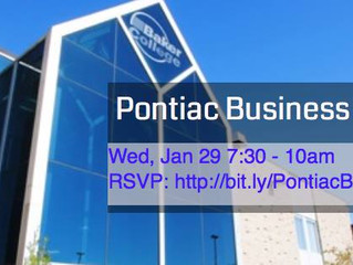 Pontiac Business Conference - Winter 2014