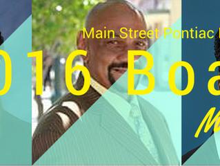 NEW Main Street Pontiac Board Members