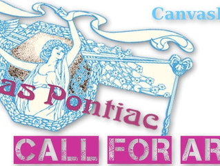 CALL FOR ARTISTS: Canvas Pontiac Spring 2014