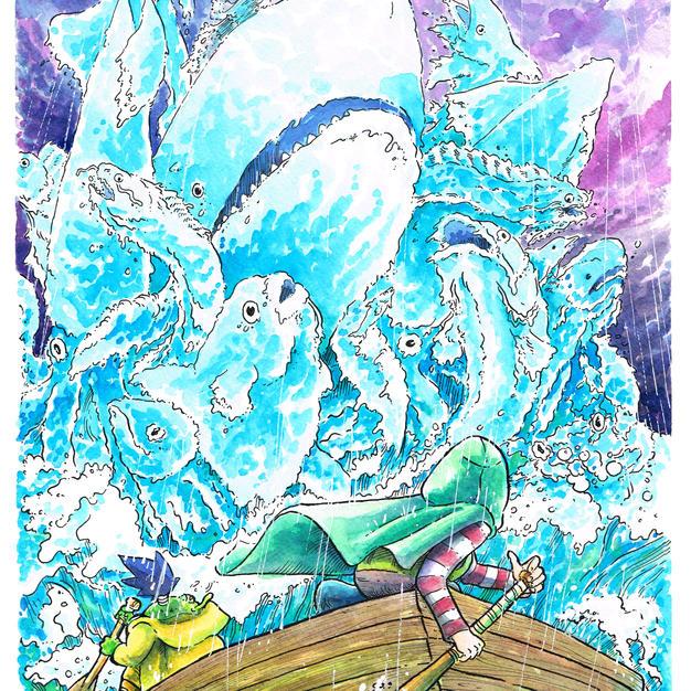 Encounter With The Sea Guardian, Ryan Tavarez
