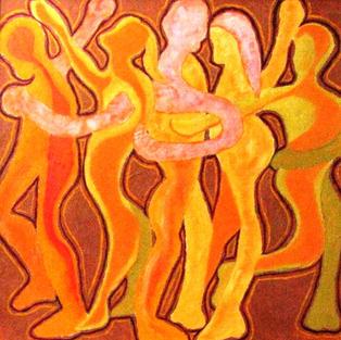 Dance Party, Janet Almstadt-Davison