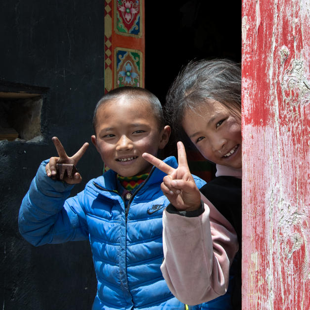 Peace Out From the Beautiful People of Tibet, Ron Conigliaro