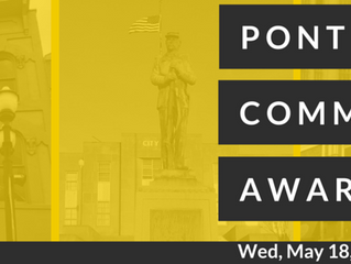 SAVE THE DATE - Community Awards, May 18