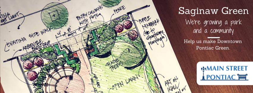 Saginaw Green - We're growing a park