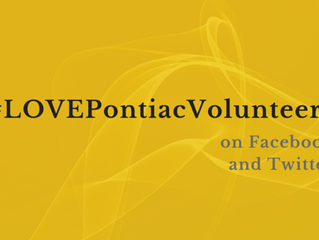#LOVEPontiacVolunteers