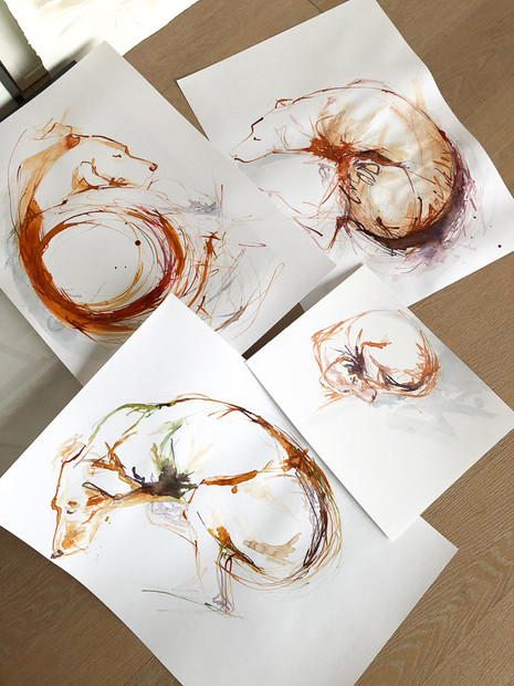 Sandra Chiocchetti's Atelier