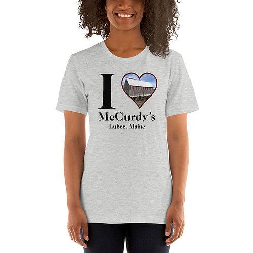 """I """"Heart"""" McCurdy's Short-Sleeve Unisex T-Shirt"""