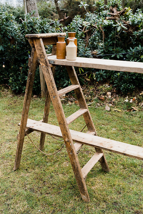 A frame wooden Ladders
