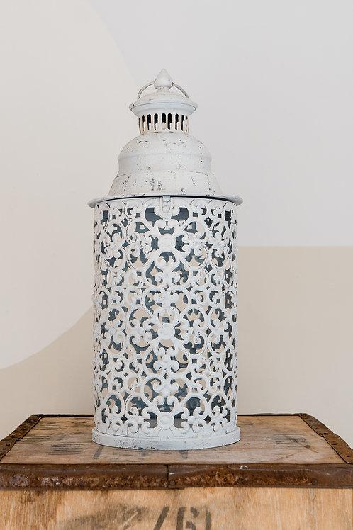 Moroccan lantern - Large white
