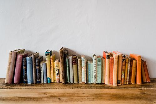 Vintage Books - various colours