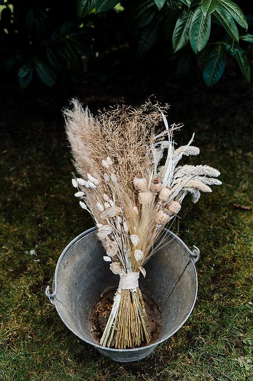 Galvanised bucket - medium