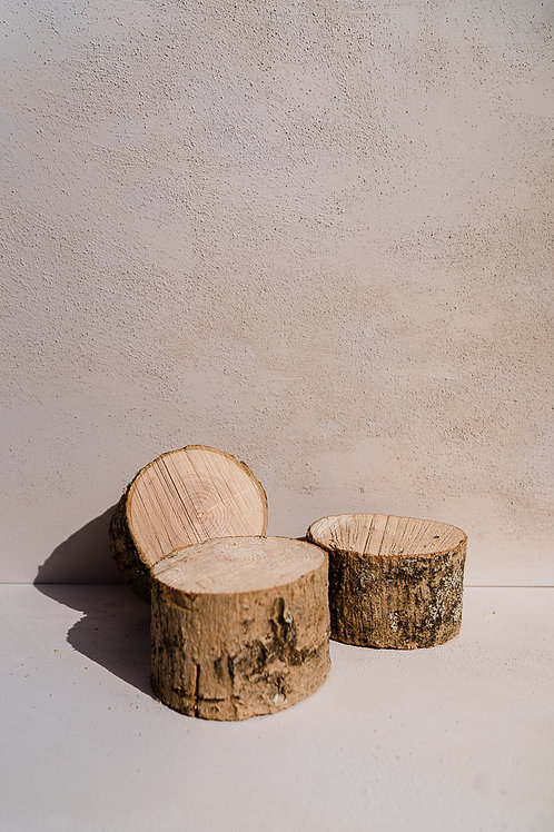 Small log slices