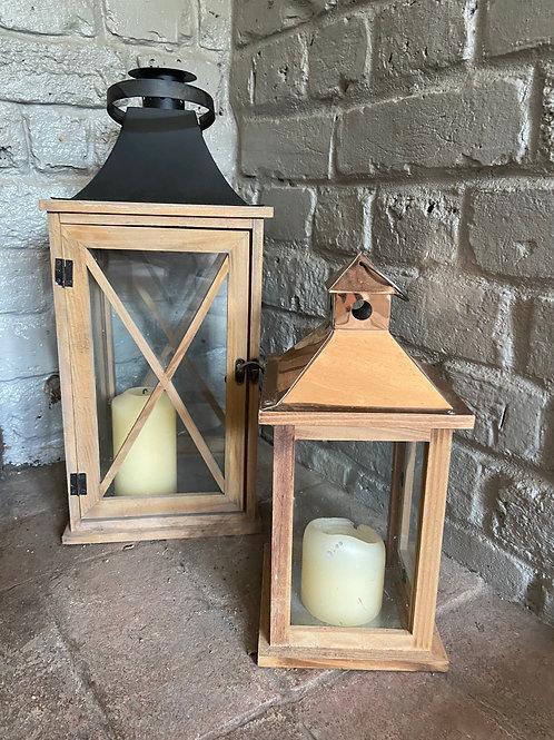 Wooden Lanterns - Large