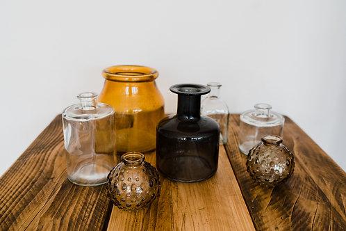 Glass Bottles -  Neutral Coloured
