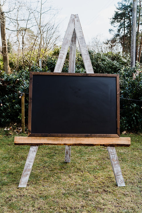 Giant wooden easel