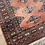 Thumbnail: Orange and brown antique Aztec rug