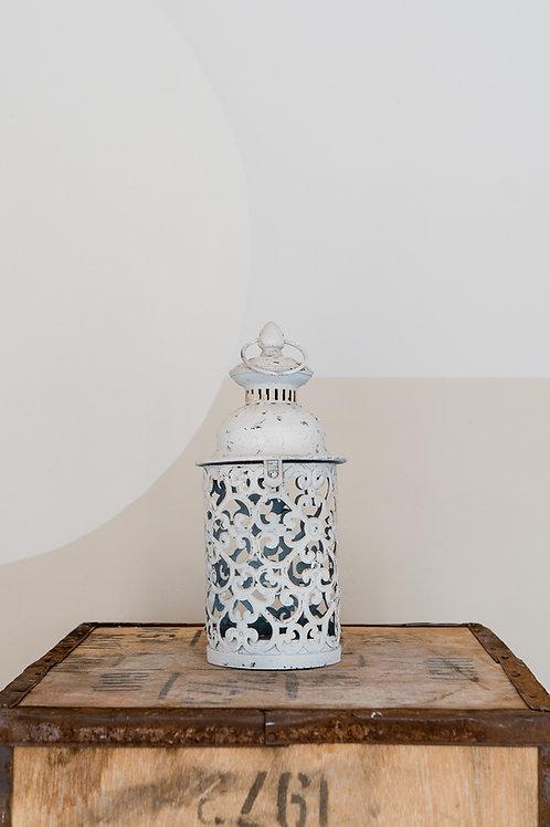 Moroccan Lantern -  Small white