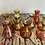 Thumbnail: Small coloured bud vases