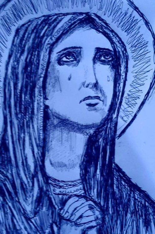 MARY, MOTHER OF GOD by Joe
