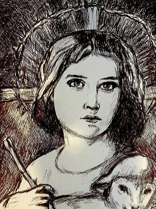 Jesus, The Young Shepherd