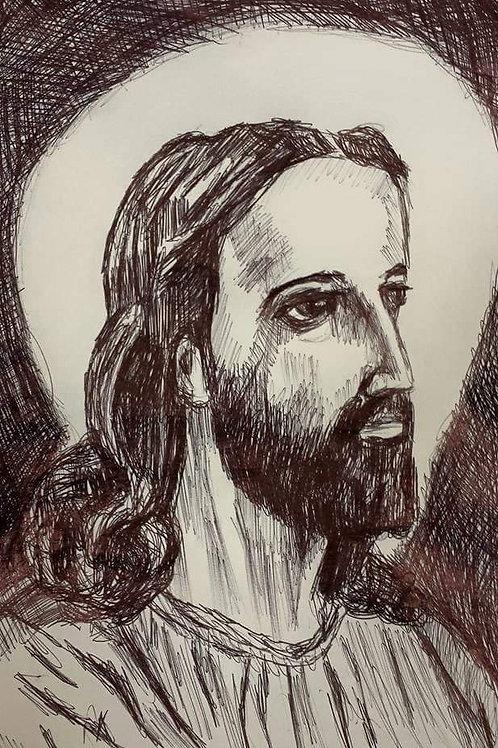 Jesus, Side Sketch