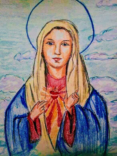 THE IMMACULATE HEART OF MARY by Joe