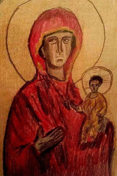 MARY, THE THEOTOKOS by Joe