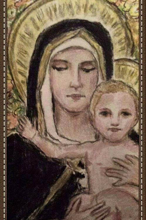 BLESSED BE THE MOTHER OF GOD by Joe