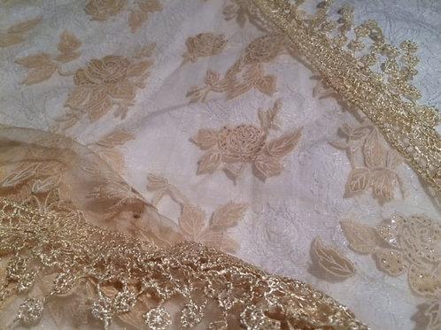 Sheer Rose Veil